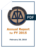 Annual report from the MSPB
