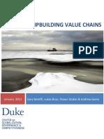 Gereffi Et Al 2013 the NSPS Shipbuilding Value Chains