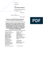 Amicus Brief filed by 118 cities in U.S. v. Texas