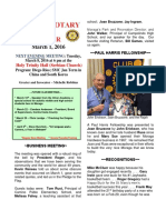 Moraga Rotary Newsletter March 1 2016