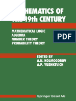 Z. A. Kuzicheva (auth.), A. N. Kolmogorov, A. P. Yushkevich (eds.)-Mathematics of the 19th Century_ Mathematical Logic Algebra Number Theory Probability Theory-Birkhäuser Basel (1992).pdf