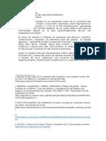 Caracterización Del Sector Económico de calzad
