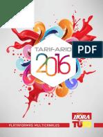 Tarifario Primera Hora 2016