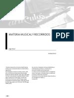 Materiamusicalyrecorridos - Jorge Horst