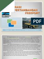 Operasi Pertambangan Freeport (Presentasi) by Rizky Kurnia