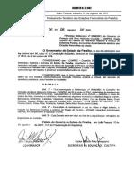 Decreto 22.082 - Tombamento Temático Das Estações Ferroviárias Da Paraíba