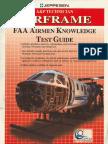 A&P Technician Airframe Faa Airmen Knowledge Test Guide