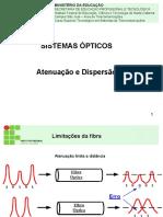 Sio_feixeoptico_qualidade Da Fo e Perdas Caracteristicas
