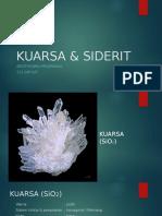 KUARSA & SIDERIT