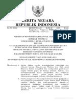 Permenkumham Ttg Tata Cara Pengelolaan PNBP Thn 2012