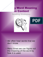 word meaning in context