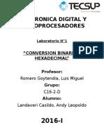 Electronica Digital y Microprocesadores Informe 01