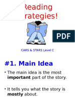reading strategies level c