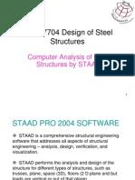 Design of Steel Truss STAAD