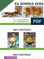085729878262, Boneka Monyet Jumbo, Boneka Monyet Cantik, Boneka Monyet Murah