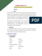 Formato Para Autorizacion de Uso de Agua ANA
