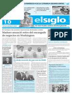Edición Impresa Elsiglo 10-03-2016