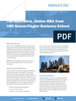 MBA Program Brochure 0714