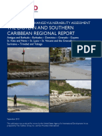 Rapid Climate Change Vulnerability Assessment - The Eastern and Southern Caribbean Regional Report