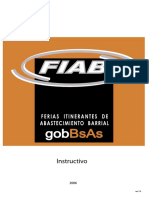 Instructivo-V11 Fiab, Ferias Itinerantes de Abastecimientos Barrial