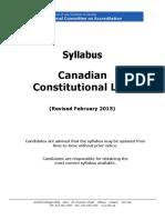 NCA Constitutional Law Syllabus Feb 2015