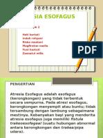 Pp Atresia Esofagus