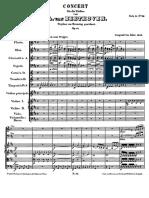 Beethoven Violin Concerto Score