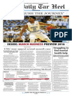 The Daily Tar Heel for March 10, 2016