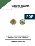 Materi Sosialisasi Pencegahan Kebakaran Hutan