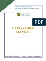 Vaeco Form Manual 31aug 2015