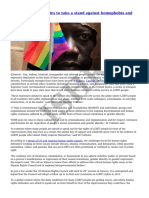 ISHR - Time for UN and States to Take a Stand Against Homophobia and Transphobia - 2014-05-21