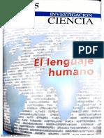 El Lenguaje Humano, Rev. Investigación y Ciencia; Scientific Americ