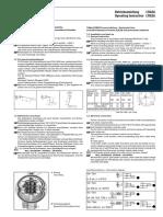 BESTA Float level switch Manual