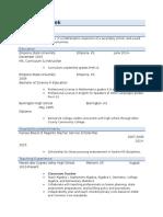 jamie humlicek resume for online use