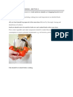 Food Safety and Hygiene 3