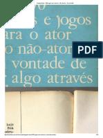 Augusto Boal - 200 Jogos Para Atores e Não-Atores - Documents