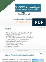 NasalGuard AllergieBLOCK Advantages - NASALGUARD UK