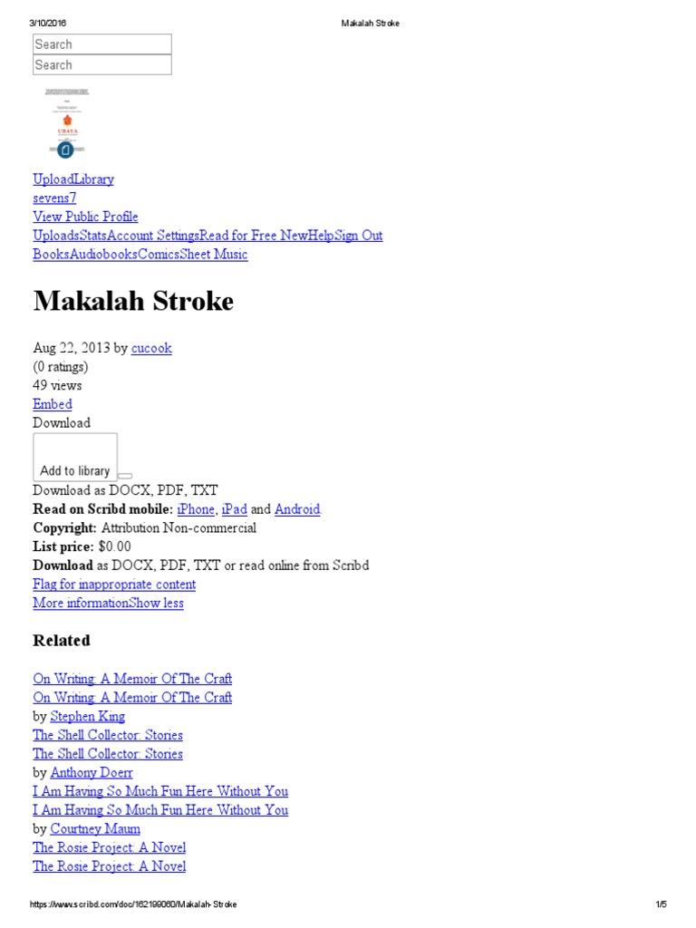 162199060 Makalah Stroke