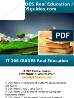 IT 205 GUIDES Real Education - It205guides.com