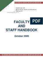 IBA Employee Handbook FINAL Oct2009