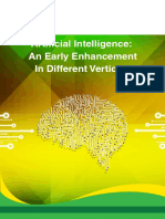 Artificial Intelligence an Early Enhancement in Different Verticals