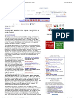 जापानमा विदेशी कामदार (अँग्रेजी)