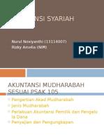 AKUNTANSI SYARIAH MUDHARABAH