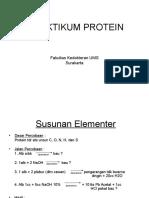 Praktikum Protein