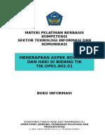 TIK.op01.002.01 BInformasi Mengidentifikasi Aspek Kode Etik Dan HKI Di Bidang TIK New