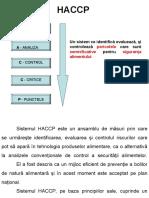 Sistemul HACCP Este Un Ansamblu de Măsuri Prin