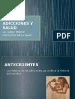 Adicciones y Salud