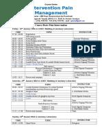 Susunan Acara Course Basic Januari 2016