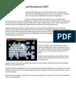 Tips Main & Download Permainan ONET