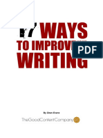 17 Ways to Improve Your Web Writing